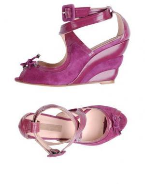 Сандалии BLUEPRINT. Цвет: розовато-лиловый