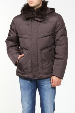 Куртка Mirage-mv. Цвет: коричневый
