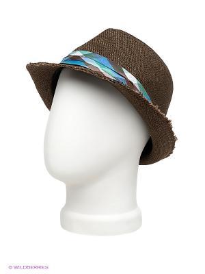 Шляпа Imojo. Цвет: темно-коричневый