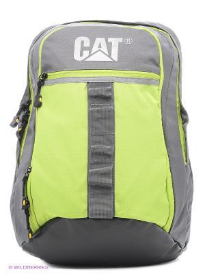 Рюкзак Caterpillar Объём 17л. Цвет: зеленый, серый