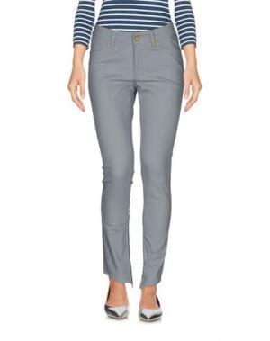 Джинсовые брюки SUPERFINE. Цвет: небесно-голубой