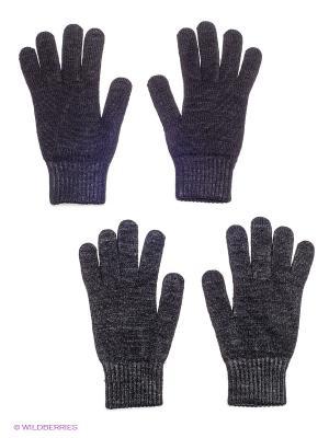 Перчатки FOMAS. Цвет: черный, темно-серый