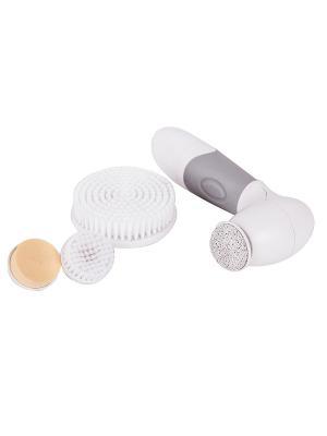 Прибор для чистки лица и тела Spa Expert Gess. Цвет: серый, белый
