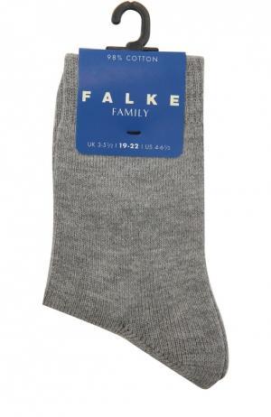 Носки из хлопка Falke. Цвет: серый
