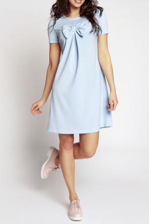 Платье NOMMO. Цвет: синий