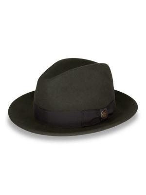 Шляпа Goorin Brothers. Цвет: оливковый
