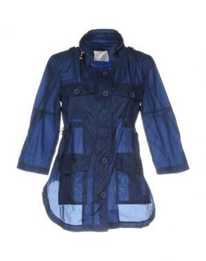 Легкое пальто ANONYME DESIGNERS. Цвет: синий