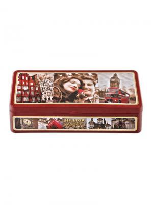 Чай Hilltop Шкатулка Прогулки по Лондону 50 гр+50 гр. Цвет: черный