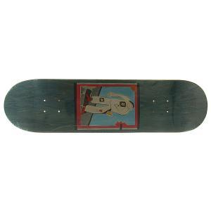 Дека для скейтборда  SSS 2 Blue 32 x 8.125 (20.6 см) Absurd. Цвет: голубой