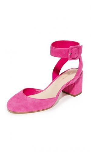 Туфли-лодочки Cami Loeffler Randall. Цвет: ультрарозовый