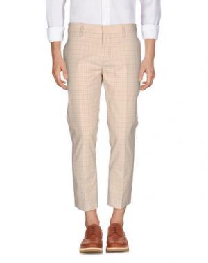 Повседневные брюки MARC JACOBS. Цвет: бежевый