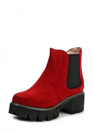 Ботинки Evigi. Цвет: красный