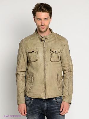 Куртка Mauritius. Цвет: серый