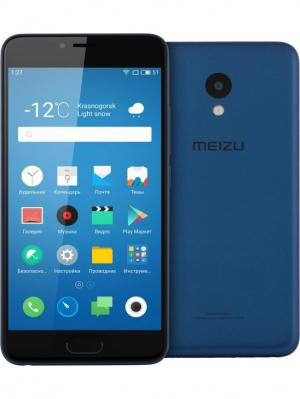 Смартфон Meizu M5 16Gb (M611H-16-BLUE), синий. Цвет: синий