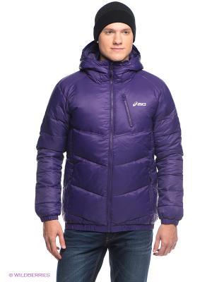 Пуховик Down Puffer Jacket ASICS. Цвет: фиолетовый