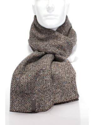 Шарф из пальтовой ткани ANTAR. Цвет: черный, бежевый