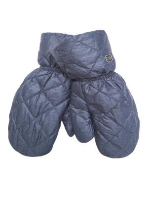 Варежки Consowear. Цвет: синий