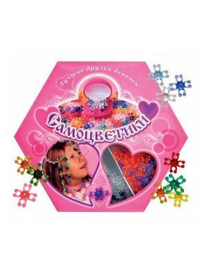 Набор для детского творчества: Самоцветики  подарочное издание БИПЛАНТ.. Цвет: розовый