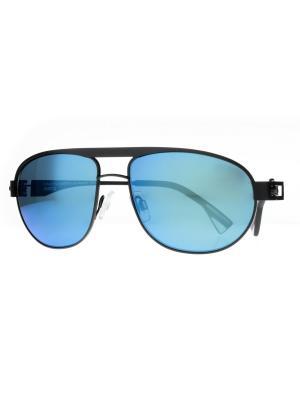 Солнцезащитные очки Dakota Smith. Цвет: черный