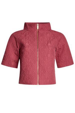 Куртка oodji. Цвет: пыльно-розовый