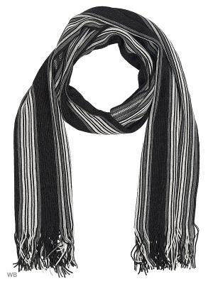 Шарф VICENTE. Цвет: темно-серый, светло-серый, серый меланж