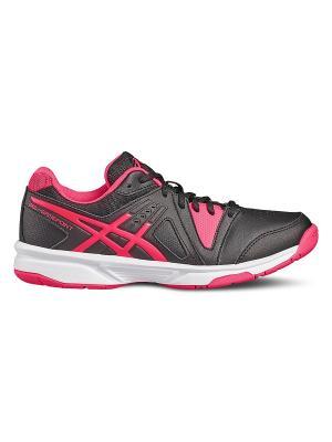 Кроссовки GEL- GAMEPOINT GS ASICS. Цвет: черный, белый, розовый
