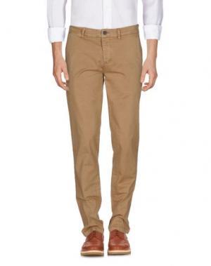 Повседневные брюки RANSOM. Цвет: хаки