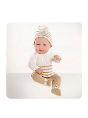 Кукла Arias пупс Elegance, 42см,Real baby beig,в бежевом Arias.. Цвет: бежевый