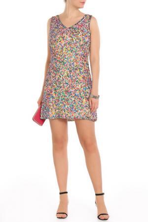 Платье Aftershock. Цвет: lime