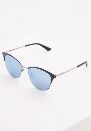 Очки солнцезащитные McQ. Цвет: синий