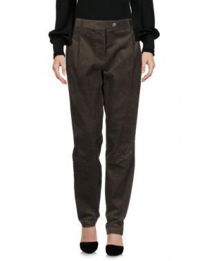 Повседневные брюки WEILI ZHENG. Цвет: зеленый-милитари