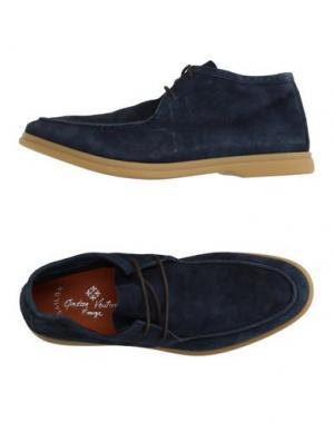 Полусапоги и высокие ботинки ANDREA VENTURA FIRENZE. Цвет: грифельно-синий