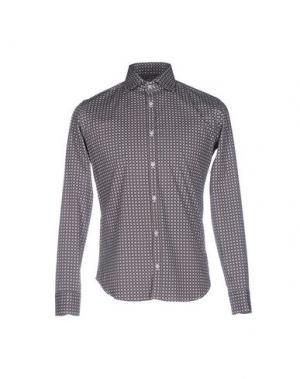 Pубашка MASSIMO BRUNELLI. Цвет: серый