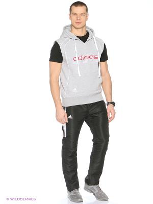 Жилет Hoody Sweat Boxing Club Adidas. Цвет: серый