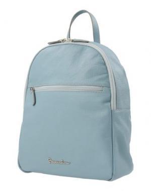 Рюкзаки и сумки на пояс BRACCIALINI. Цвет: небесно-голубой