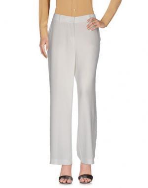 Повседневные брюки CAMBIO. Цвет: белый