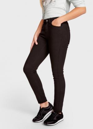 Утеплённые брюки OSTIN. Цвет: черный