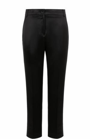 Укороченные брюки прямого кроя Elizabeth and James. Цвет: черный