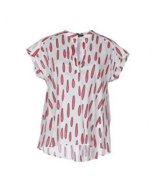Блузка WALTER VOULAZ. Цвет: белый