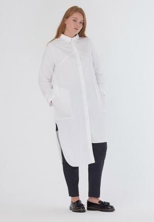 Платье W&B. Цвет: белый