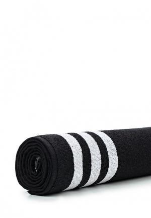 Полотенце adidas Performance. Цвет: черный