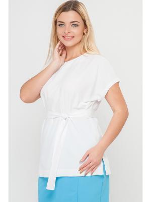 Блузки Limonti. Цвет: белый