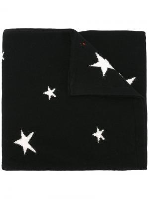 Шарф Star Intarsia Chinti And Parker. Цвет: чёрный