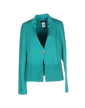 Пиджак JEI O'. Цвет: бирюзовый