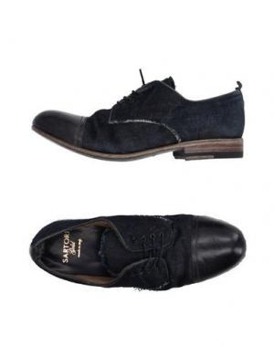 Обувь на шнурках SARTORI GOLD. Цвет: синий