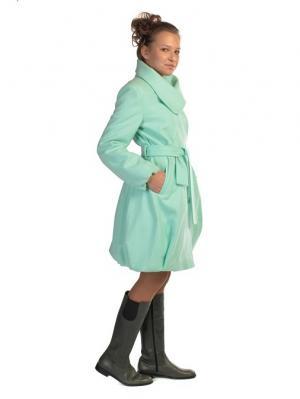 Пальто TOPKLAER. Цвет: бирюзовый