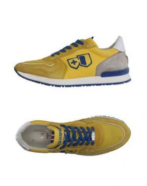Низкие кеды и кроссовки D'ACQUASPARTA. Цвет: желтый