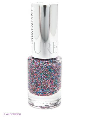 Лак для ногтей Гламур (Покрытие Flossy) YLLOZURE. Цвет: серый, малиновый, синий