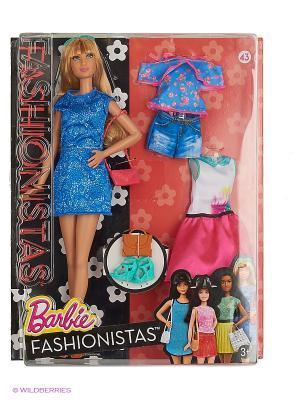Кукла Барби Fashionistas. Эволюция (с набором одежды) Barbie. Цвет: синий, красный