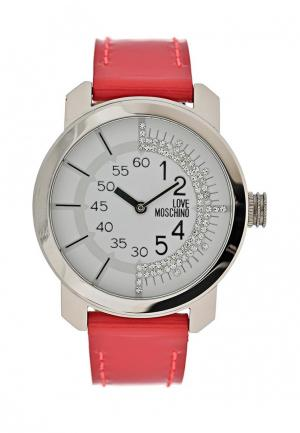 Часы Moschino. Цвет: красный